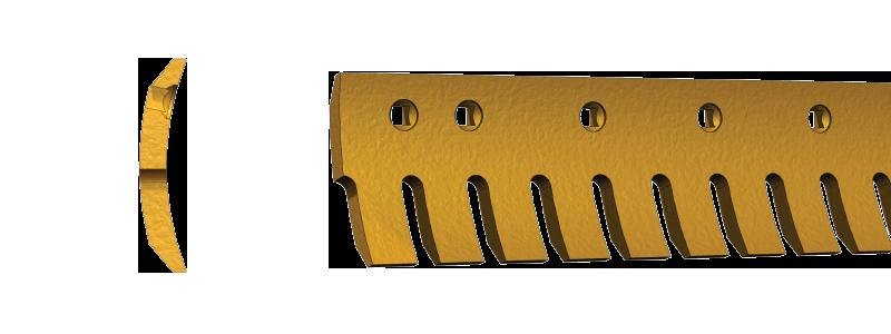 11102: serrated grader blades