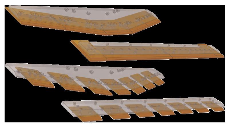 9302: loader blades and segments